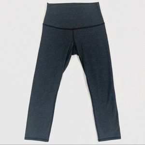 Lululemon Wunder Under Crop *Cotton (Roll Down)